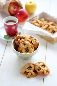 Galletas de tarta de manzana - Rico Sin Azúcar