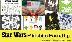 Ultimate Star Wars Printables Round-Up via @sunandhurricane