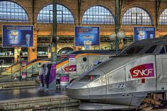 du Norde station in Paris by shockatz, via Flickr