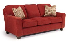 Annabel  Custom 3 Over 3 Sofa by 411