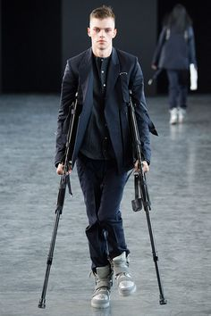 Hood By Air unveiled its SS2015 collection during New York Fashion Week. The future of fashion!