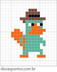 Doces Pontos: Perry - O Ornitorrinco                              …