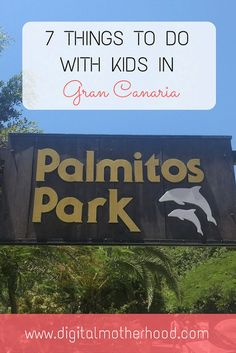 7 Things to Do With Kids In Gran Canaria | Digital Motherhood