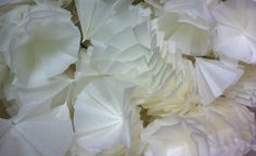 Johanna Arenas. Tracing Paper. Detail of installation.
