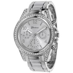 Rhinestone Bezel Metal Cuff Fashion Watch ** Find out more about the great product at the image link.