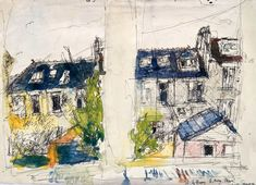 Picture Architecture, Drawings, Pictures, Painting, Art, Photos, Painting Art, Sketch, Paintings