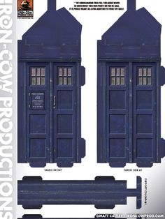 Iron-Cow Productions - free TARDIS to download