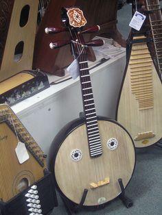 Pareidolia banjo