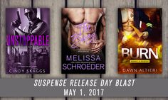 Entangled Publishing is excited to bring you three brand new, sexy romantic suspense titles sure to leave your heart pounding and your senses ignited! Read on for all of the details! ***