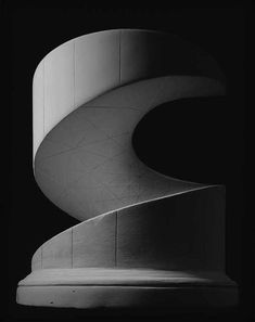 artnet Galleries: Helicoid: minimal surface by Hiroshi Sugimoto from Richard Levy Gallery Elsa Peretti, Architecture Classique, Hiroshi Sugimoto, Tate Gallery, Dark Photography, Japanese Photography, Sculptures For Sale, Museum Of Contemporary Art, Photo Black