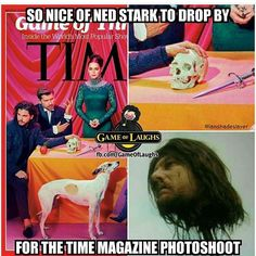 Game of Thrones funny meme humour. Time magazine