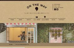 ON THE WAY | Web Design Clip