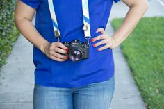 DIY Camera Strap with Tassels | Lovely Indeed