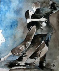 tango paintings - Lauren Maurer Artworks