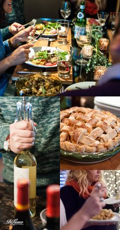 We invited a dozen friends over for a Thanksgiving potluck and some amazing things happened. Read about our favorite dishes here. #friendsgiving