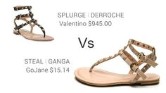 7b86506799a7 www.2locos.com Valentino vs. GoJane Sandals