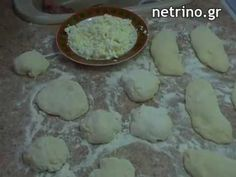 This is my first Greek Greek Recipe! Have you ever tasted Greek Pan Breads Tiganopsoma filled with feta cheese and olive oil . Greek Desserts, Greek Recipes, Pan Bread, Sweet And Salty, Feta, Food Processor Recipes, Food And Drink, Appetizers, Brot