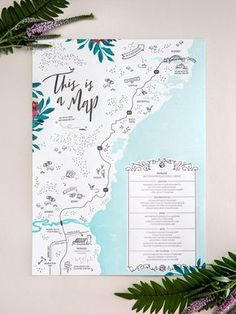 Tropical Garden Party Copper Foil Wedding Invitations by The Distillery / Oh So Beautiful Paper