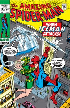 Spider-Man has just been confronted by Sam Bullit and Gwen Stacy at Peter Parker's apartment. Spider-Man, hoping to talk sense into Gwen, grabs the girl and makes an exit. However, this is spotted by Bobby Drake, who is out on a date. He changes into Iceman and attacks Spider-Man, whom he thinks will harm the girl, forcing Spidey to make an escape. Bullit thanks Iceman for his help and asks him to track down and capture Spider-Man. After continuing his law and order campaign to obtain the...