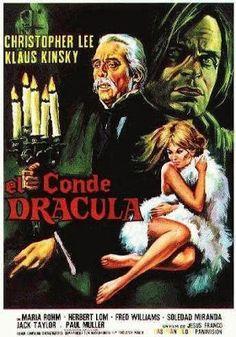 El señor de los bloguiños: El conde Drácula (1970) de Jesús Franco