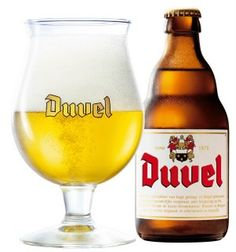 Duvel, my fave beer! Ever.