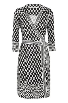 Always Shopping: The Perfect Printed Wrap Dress. DVF Tallulah Silk-Jersey Wrap Dress