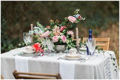 Who says Valentine's is tacky?! This romantic backyard Valentine's elopement is swoon-worthy wedding inspiration. See more of the images by Lindsey LaRue.