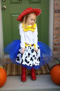 DIY Toy Story Jessie Halloween Costume Idea Disfraces Con Tutu 0be0d3d466a