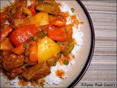 Authentic Pilipino cuisine straight from Rosalina's Kitchen: Chicken Afritada