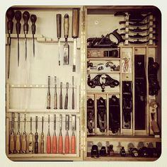 toolcabinet handplane handtools storage