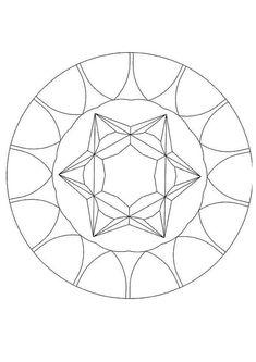 Mandalas para NOVATOS - Desenho de um Mandala com pedras preciosas