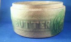 Butter crocks ...