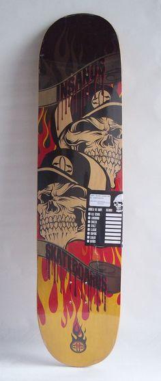 Shape Skate Longboard 40 Tail E Nose Simétricos Insanos - R$ 130,00 no MercadoLivre