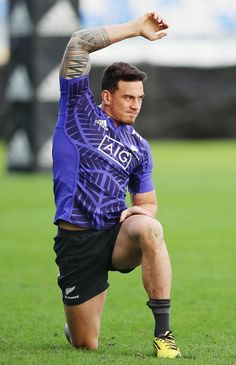 Footy Players — Sonny Bill Williams of the New Zealand All Blacks