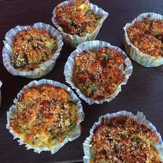 Glutenfri madpakke #1: Madmuffins Gluten Free Recipes, Muffins, Dessert, Snacks, Food And Drink, Breakfast, Glutenfree, Gluten Free, Muffin