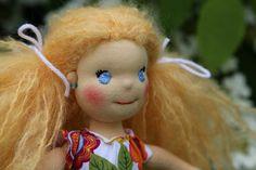 detail panenky - vyšitý obličej a ouška, ekopanenka Dolls, Christmas Ornaments, Holiday Decor, Home Decor, Baby Dolls, Decoration Home, Room Decor, Puppet, Christmas Jewelry