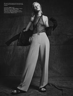 visual optimism; fashion editorials, shows, campaigns & more!: rebel rebel: linn by philip messmann for styleby #33
