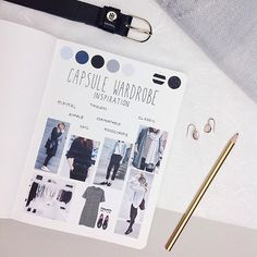 """Here it is: The inspiration page for my Capsule Wardrobe. I first saw this concept of a more minimalistic and well chosen Wardrobe at Anna's Blog @theannaedit and so I had a very big clearout session at the beginning of 2016. Now one year ago I am so so happy with all of my clothes that I highly recommend a more thoughtful wardrobe. Just give it a try . Also I should mention that mine isn't the """"original capsule wardrobe"""" where you are limited to a special amount of pieces. I just kept all…"""