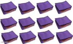 Apparel Storage Stylish Trendy Non-Woven Saree Cover (Pack Of  12) Material: Non-Woven Size (L X B X H): 42 cm x 15 cm x 15.5 cm Description: It Has 12 Pieces Of Saree Covers Country of Origin: India Sizes Available: Free Size   Catalog Rating: ★4 (275)  Catalog Name: Dream Home Stylish Trendy Non-Woven Saree Cover Combo CatalogID_345217 C131-SC1628 Code: 583-2559984-249