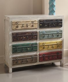 Another great find on #zulily! Gray Distressed Moga Cabinet by Coast to Coast #zulilyfinds
