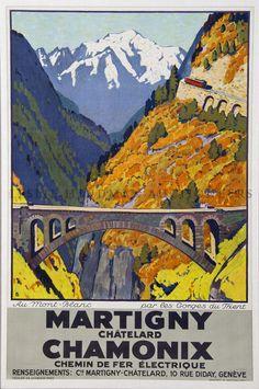Otto Baumberger, Martigny-Chamonix