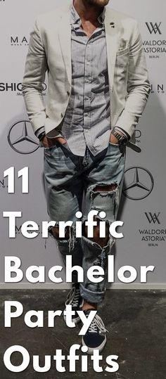 Up for a rocking bachelor's party? Are you sure you have the perfect clothes? You don't want to look lame, do you? Theunstitchd gives you ideas