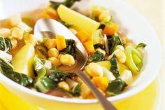 Das Rezept für Arabischer Erbsen-Eintopf mit allen nötigen Zutaten und der einfachsten Zubereitung - gesund kochen mit FIT FOR FUN