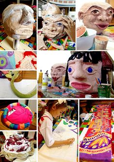 How we made Giant Puppets - read the full story