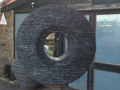 Slate sculpture by James Parker http://www.jamesparkersculpture.co.uk/