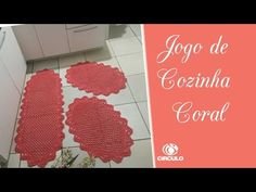 Jσgσ ∂є cσʑiทнα cσrαℓ #edilenefitipaldi #semprecirculo - YouTube Youtube, Make It Yourself, Simple, Rug Patterns, Kitchen Playsets, Coral Kitchen, Craft Ideas, Diy And Crafts, Crochet Pattern