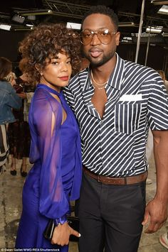 According to PEOPLE, the Being Mary Jane star bravely shared the difficulties she's faced trying to conceive and failed IVF treatments throughout her relationship with the sports star. Gabrielle Union, Grey Chinos, Elegant Midi Dresses, Cute Couples, Happy Couples, Her Cut, Paris Shows, Celebrity Couples