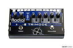 From the GearTunes library of tone ~ the Radial Tonebone Trimode Distortion ~ click it to hear it :)