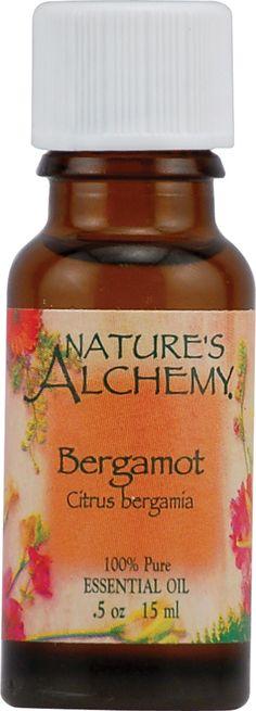 Nature's Alchemy 100% Pure Essential Oil Bergamot -- 0.5 fl oz