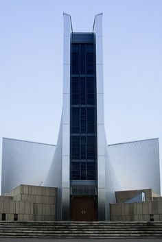 St. Mary's Cathedral, Tokyo (東京カテドラル聖マリア大聖堂) / Architect : Kenzo Tange (設計:丹下健三).